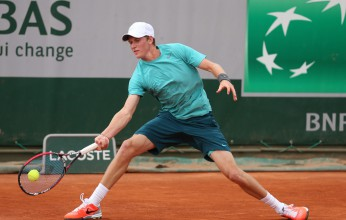 Harry Bourchier at the Junior French Open 2013